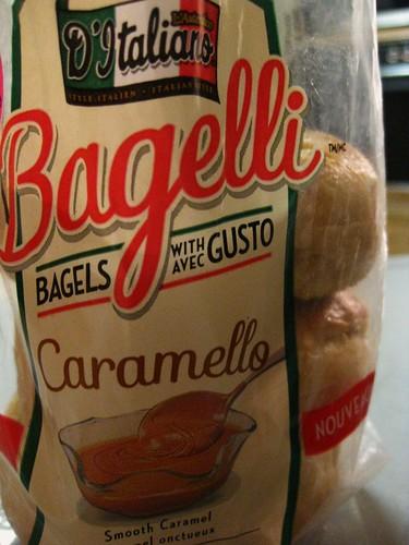 Caramel Bagels // D'Italiano Bagelli