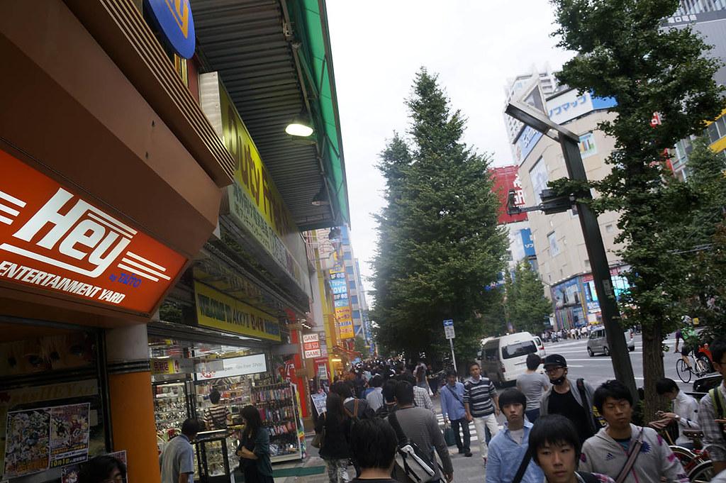 Главная улица района Акихабара. Тюо Дори.