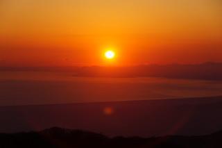 124 Uitzicht vanaf mt Komagatake