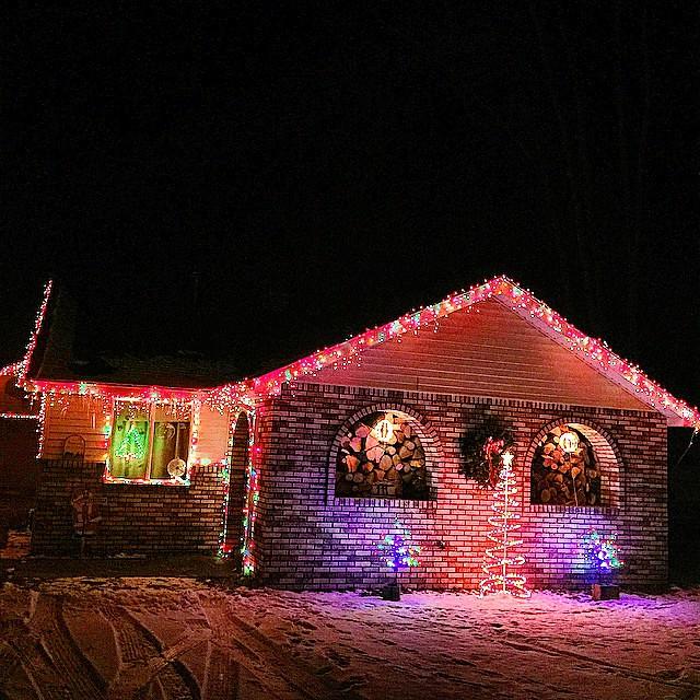 #Christmas is almost here tie #houghtonlake #puremichigan #christmaslights