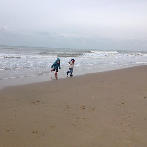 De zee komt ons opeten! #oostende