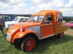 automobile, vehicle, citroã«n acadiane, light commercial vehicle, antique car, vintage car, land vehicle,
