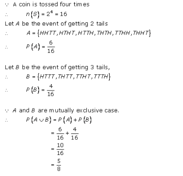 RD-Sharma-class-11 Solutions-Chapter-33-Probability-Ex-33.4-Q-24