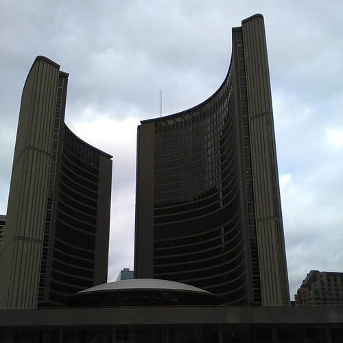 Christmas Day at City Hall, 3 #toronto #christmas #torontophotos #cityhall #torontocityhall