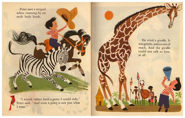 024-Pets for Peter – ilustrador Aurelius Battaglia - Copyright 1950- via goldengems.blogspot