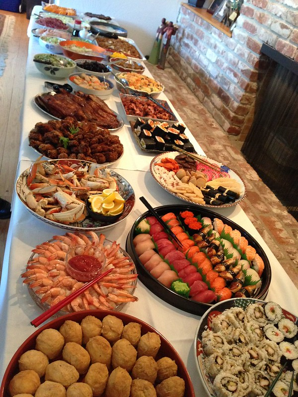 PIC: 2015 New Year's Osechi Ryori spread is almost ready to be devoured!