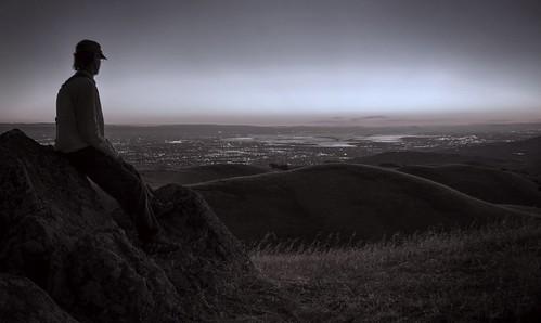 california sunset monochrome sepia raw sanjose hdr photomatix fav100 1xp nex6 selp1650 sierravistaopenspacepreserve aquilalooptrail