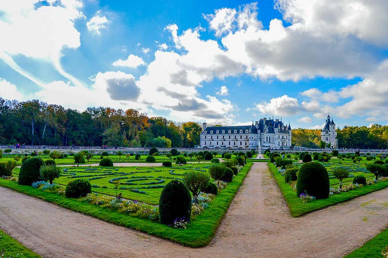 Diane's Garden at Chenonceau