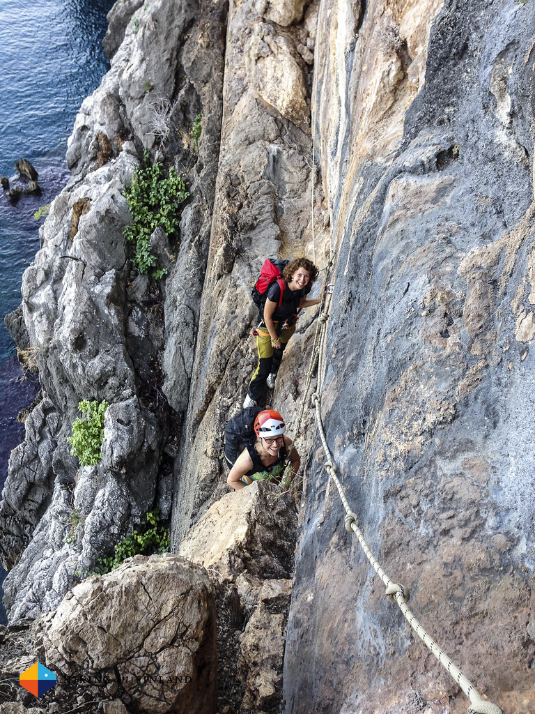 Via Ferrata at Ceneviz Liman Sector