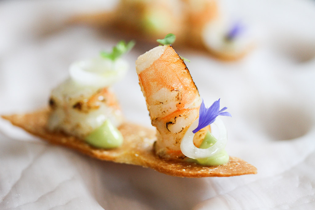 Corner House's Obsiblue prawn from New Caledonia