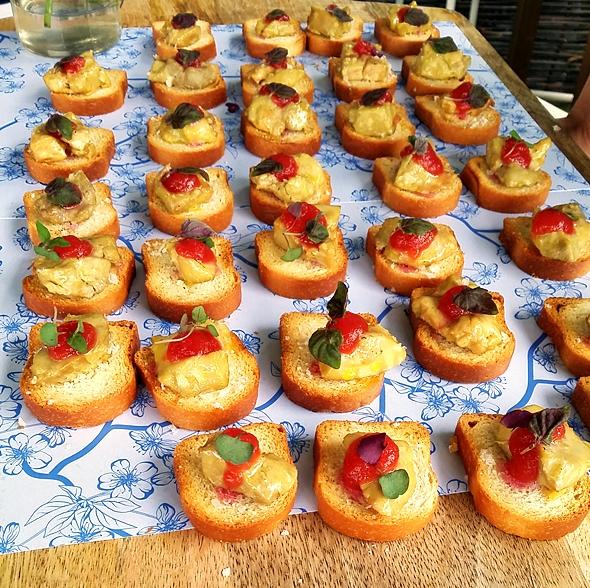 Portsea Polo 2015 Food Photo | www.fussfreecooking.com