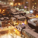 Snowy Chocolate Hour in Fashionable Toy District by Katrin Ray