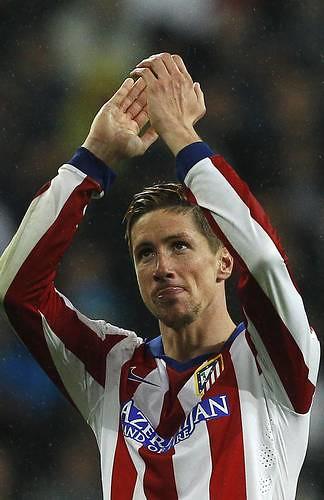 Fernando Torres expresó su alegría por haber anotado en su retorno al Atlético de Madrid y en el Bernabéu, donde no lo había hechoFoto Ap