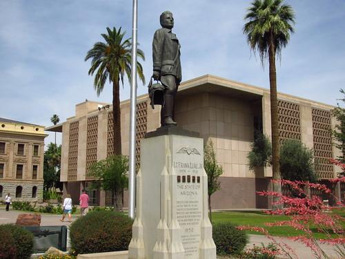 Statue of Frank Luke