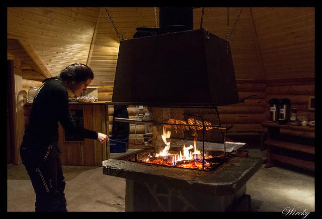 Laponia Rovaniemi iglú cristal cena salmón kota - Así nos cocinaron el salmón en la kota