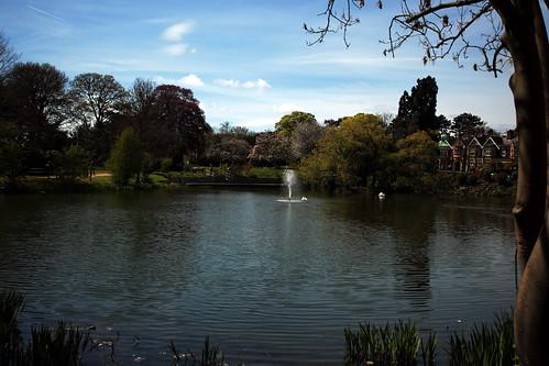 Il lago di Bletchley Park