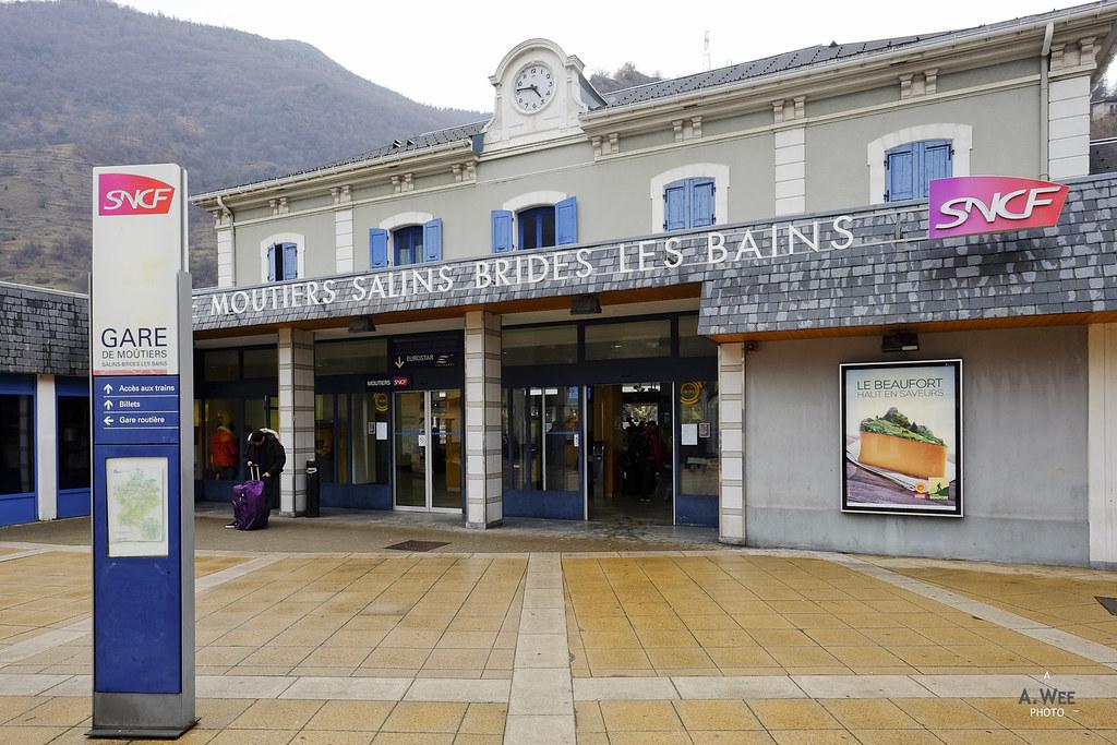 Gare de Moûtiers Salins Brides-les-Bains