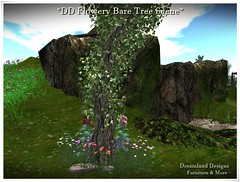 DD Flowery Bare Tree Scene_001A