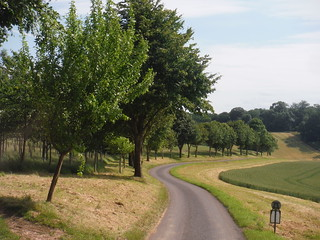 Lane towards Lower Eldon Farm