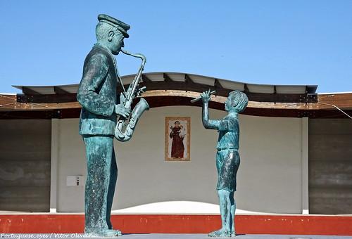 Monumento ao Músico - Covões - Portugal