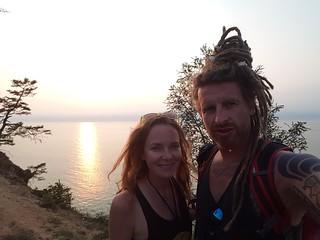 Sunset Olkhon Island