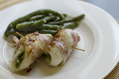 Turbot rolls with Colonnata lard