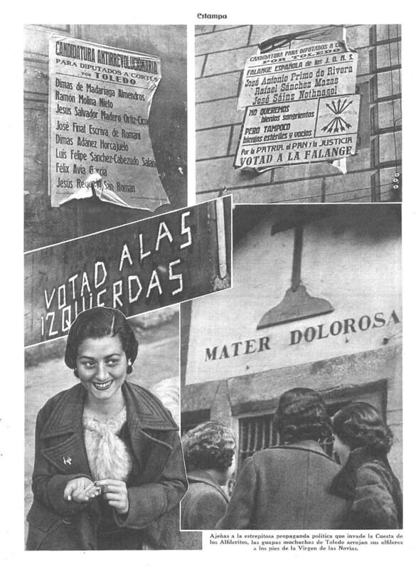 Reportaje sobre la Virgen de Alfileritos. Revista Estampa del 14 de marzo de 1936 (3)