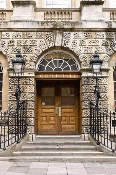 Guidhall-Doorway