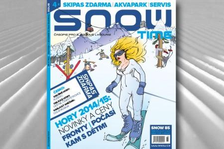 SNOW 85 time - speciál o lyžařské dovolené 2014/2015