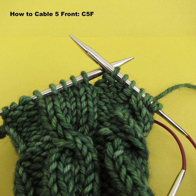 How to cable: C5F