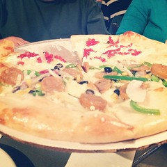 @deweyspizza is worth crossing the Atlantic for.
