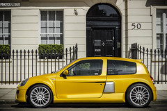 Not the usual Renault Clio..