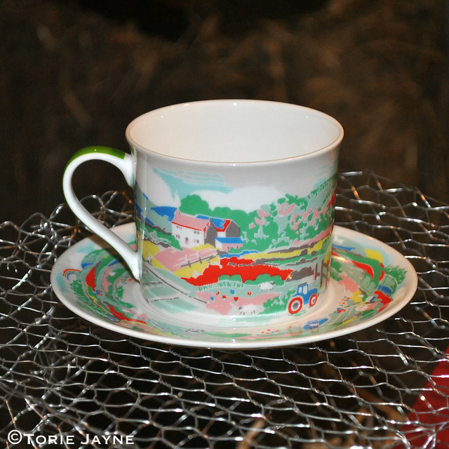 Cath Kidston cup & saucer Spring 2015