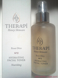 Therapi Rose Otto Hydrating Facial Toner Review