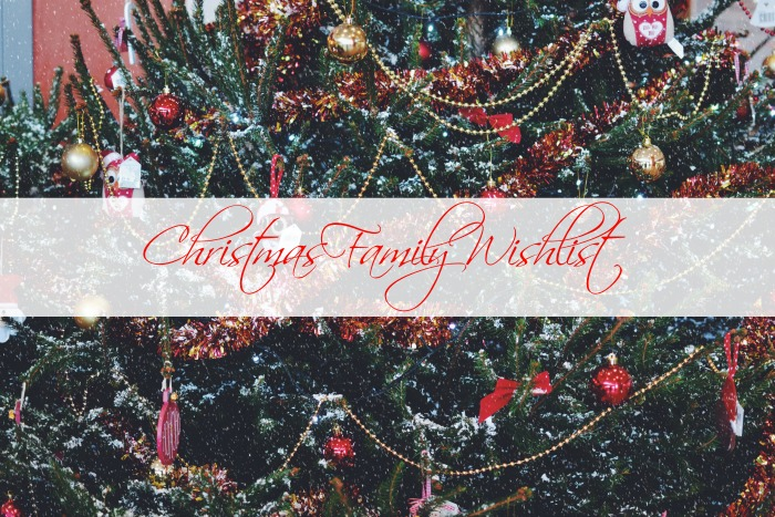 Christmas Family Wishlist