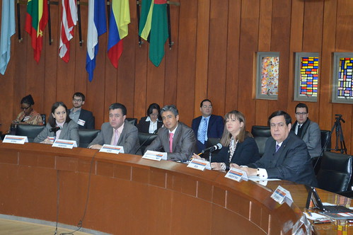 Authorities from the OAS, the Government of Mexico and the Inter-American Conference on Social Security Conclude Workshop on Social Protection and Employment