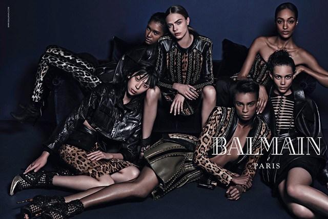 balmain-fallwinter-2014-2015-<br><br>ad-campaign