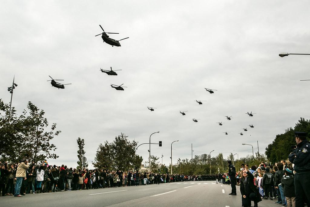 Δήλωση ΥΕΘΑ Δημήτρη Αβραμόπουλου μετά το πέρας της στρατιωτικής παρέλασης για την Εθνική Επέτειο της 28ης Οκτωβρίου στη Θεσσαλονίκη