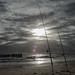 Sunset Coucher de soleil - Cap Ferret Bassin d'Arcachon Ocean Pecheur Fisherman Beach Plage Waves Vagues Water Eau - Picture Image Photography ©SuperCar-RoadTrip.fr