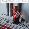 Fan pic!  Thanks to Mr. Peter Clines for bringing this guy to life in brick!