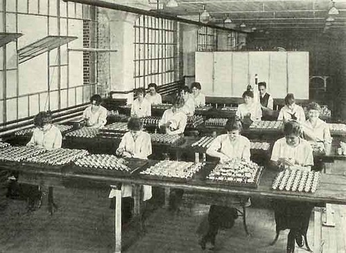 Billiard ball factory  albany ny 1930s  delaware ave and whitehall rd.