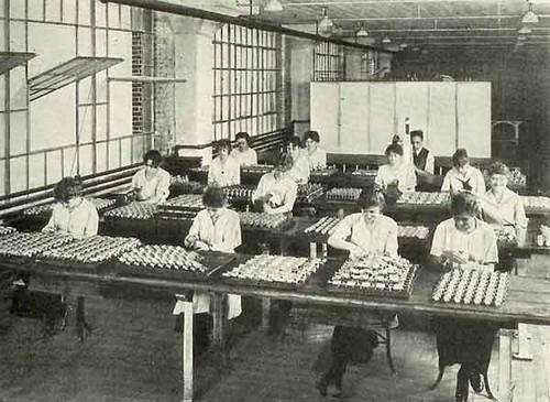 Billiard ball factory  albany ny 1930s  delaware ave and whitehall rd.