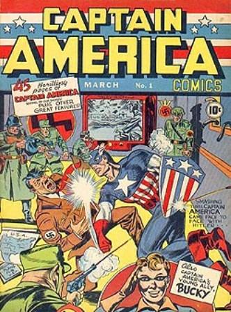 El Capitán América contra Hitler