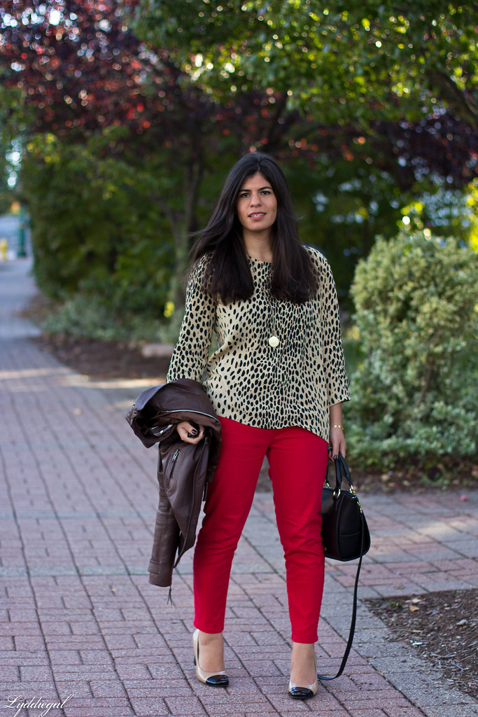 leopard tunic, red pants, leather jacket-2.jpg