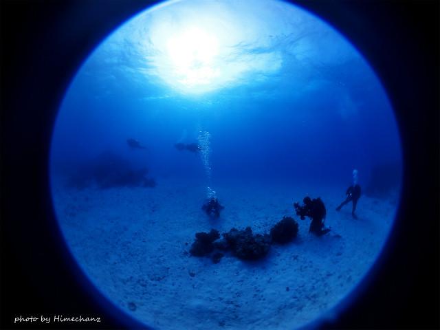 ひさしぶりの竹富島の海は青かった♪