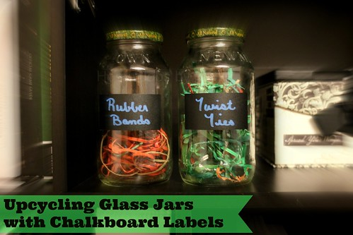upcycling glass jars
