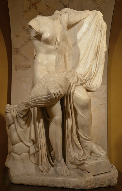 Leda and the swan statue group, 1st century AD, Archaeological Museum of Formia
