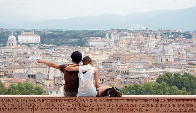 Gli amanti di Roma