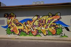 Artistic Grafitti - Austen Lane, Darwin, Australia.10