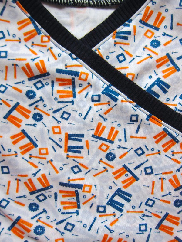 Tool fabric closeup